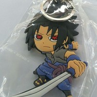 Brand New Japan Anime Naruto Sasuke Keychain