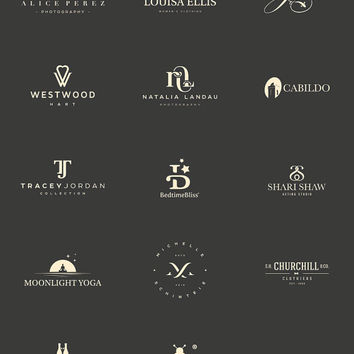 Logo Design Package. Custom Logo Design. Custom OOAK Logo Design. Photography Logo. Graphic Design. Business Logo. Boutique Logo