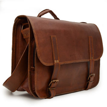 Leather Studio Camera bag
