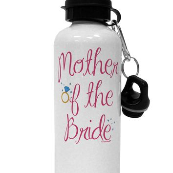 Mother of the Bride - Diamond - Color Aluminum 600ml Water Bottle
