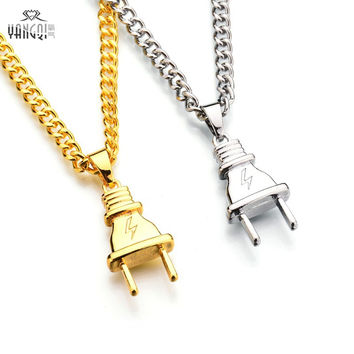 Hot Sale Hip Hop Baseball Bat Gun Necklace&Pendant  GOLD Silver Weed Leaf Hiphop