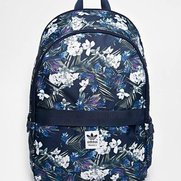 adidas Originals Backpack in Floral Print