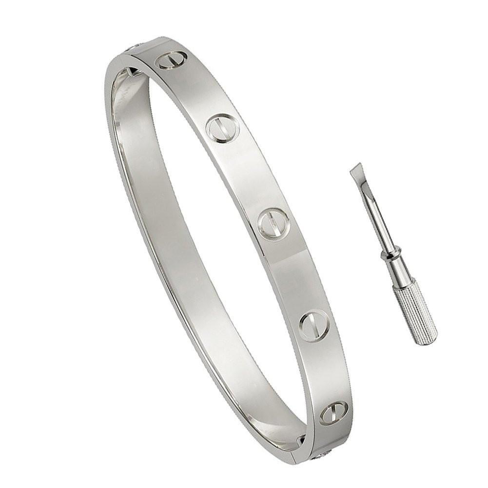 screw jolin sterling silver models edison dark button bracelet imitation bangle product men bangles premier couple