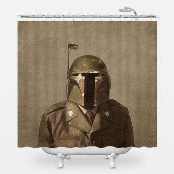 General Fett Shower Curtain