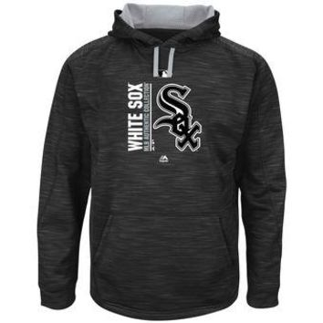 Chicago White Sox Majestic MLB Black Ultra Streak Pullover Hoodie