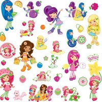 RoomMates RMK1376SCS Strawberry Shortcake Peel & Stick Wall Decals