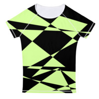 Funky Lime And Green Tee Shirt