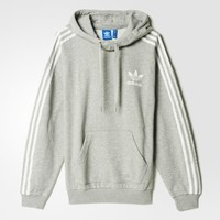 adidas 3-Stripes Hoodie - Grey | adidas US