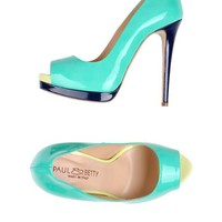 Paul & Betty Pumps With Open Toe