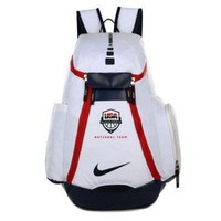 NIKE Casual Sport Laptop Bag Shoulder School Bag Backpack White