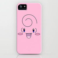 Clefairy iPhone & iPod Case by Valerie Hoffmann