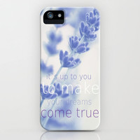 *** DREAMS COME TRUE *** Lavender  iPhone Case by SUNLIGHT STUDIOS | Society6 for iphone 5 + 4 S + 4 + 3 GS + 3 G + PILLOW