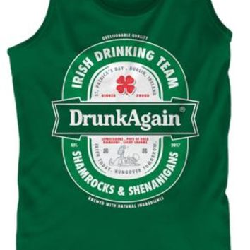 St Patrick Saint Patricks Day Drunk Ag