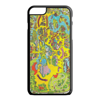 Vintage Walt Disney World Map Fantasyland 1971 iPhone 6S Plus Case
