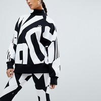adidas Originals Bold Age Graphic Print Sweatshirt at asos.com