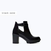 OPEN TRACK SOLE BOOTIE