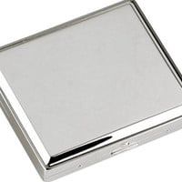 View Stainless Steel Double Sided Cigarette Case
