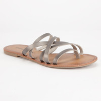 O'neill Legend Womens Sandals Pewter  In Sizes