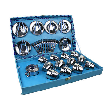 Vintage Espresso Set, Gift Boxed Breve Sized Coffee Collection, Brevettato Italy