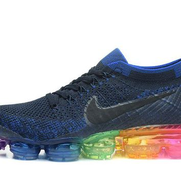 2018 Nike Air Vapor Max Flyknit Men's Running Shoes Sports Sneakers Outdoor Athletic shoes  40-45