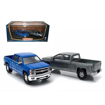 First Cut 2014 Chevrolet Silverado Pickup Trucks HobOnly 2s Set 1:64s