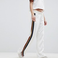 Nike Retro Trimmed Track Pants In White at asos.com