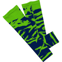 X ripped camo green and navy arm sleeve