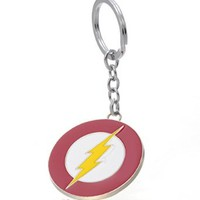 REINDEAR THE FLASH Lightning Bolt Justice League Barry Alle Metal Keychain US Seller