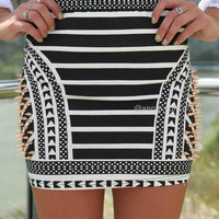 PRE ORDER - AFRICAN SPIKE SKIRT (Expected Delivery 5th September, 2014) , DRESSES, TOPS, BOTTOMS, JACKETS & JUMPERS, ACCESSORIES, 50% OFF SALE, PRE ORDER, NEW ARRIVALS, PLAYSUIT, GIFT VOUCHER,,SKIRTS,Print Australia, Queensland, Brisbane