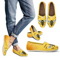 Honey Bee Diagram Casual Shoes