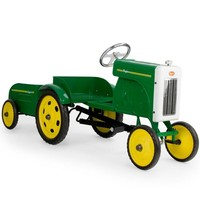 Tractor with Trailer Pedal Car by Baghera