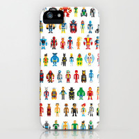 Pixel Heroes iPhone Case by Pahito | Society6