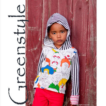 Lacy n Lane Hooded T-Shirt Sizes 3 Years to 14 Years