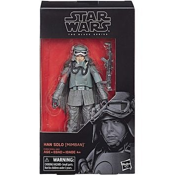 Han Solo Mimban Black Series 6 Inch Solo A Star Wars Story Figure