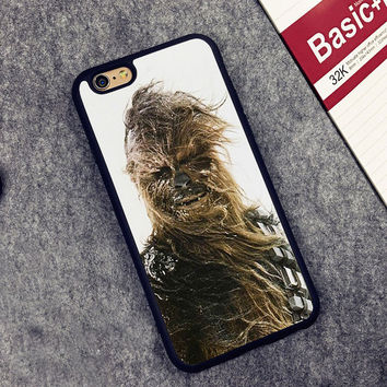 Star Wars Chewbacca Printed Soft Rubber Mobile Phone Cases For iPhone 6 6S Plus 7 7 Plus 5 5S 5C SE 4 4S Cover Skin Shell