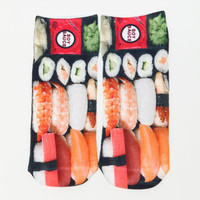LIVING ROYAL SUSHI ANKLE SOCKS