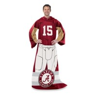 University of Alabama Player Uniform Comfy Throw