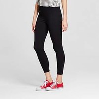 Women's Yoga Crop Leggings Black - Mossimo Supply Co.™