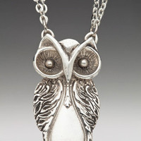 NEW! - Owl Spoon Necklace