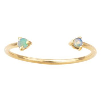 WWAKE Counting Collection Two-Step Opal Ring | Nordstrom