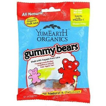 Yummy Earth Gummy Bears (12x2.5oz )