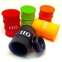 Barrel Shape Silicone Container (SML)