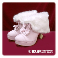 BABYねこ足ファーブーティー/BABY cabriole leg booties with fur | BABY,THE STARS SHINE BRIGHT