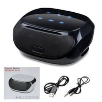 ELEGIANT AJ-81 HIFI Portable Bluetooth Speaker With Touch Screen For Iphone All Mobiles Tablet PC Color Black