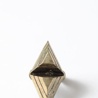 Pyramid King Ring - $14.00 : ThreadSence, Women's Indie & Bohemian Clothing, Dresses, & Accessories