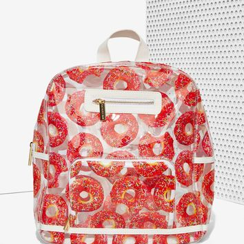 Skinnydip London Nom Nom Clear Backpack