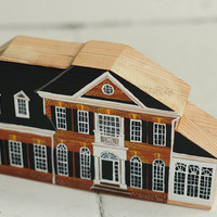 YOUR OWN HOUSE - your custom listing - Hand painted wooden house, miniature house, hand painted house, decorative miniature house