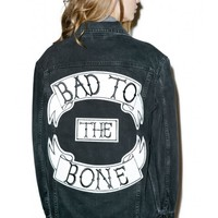 Ragged Priest Bad To The Bone Jacket | Dolls Kill