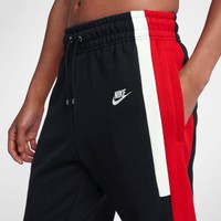 NIKE 2019 new style brand men's casual knit trousers black