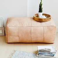 Free People Large Rectangle Pouf